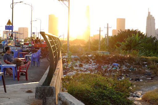 Littering is unfortunately a common sight in Vietnamese city and rural areas